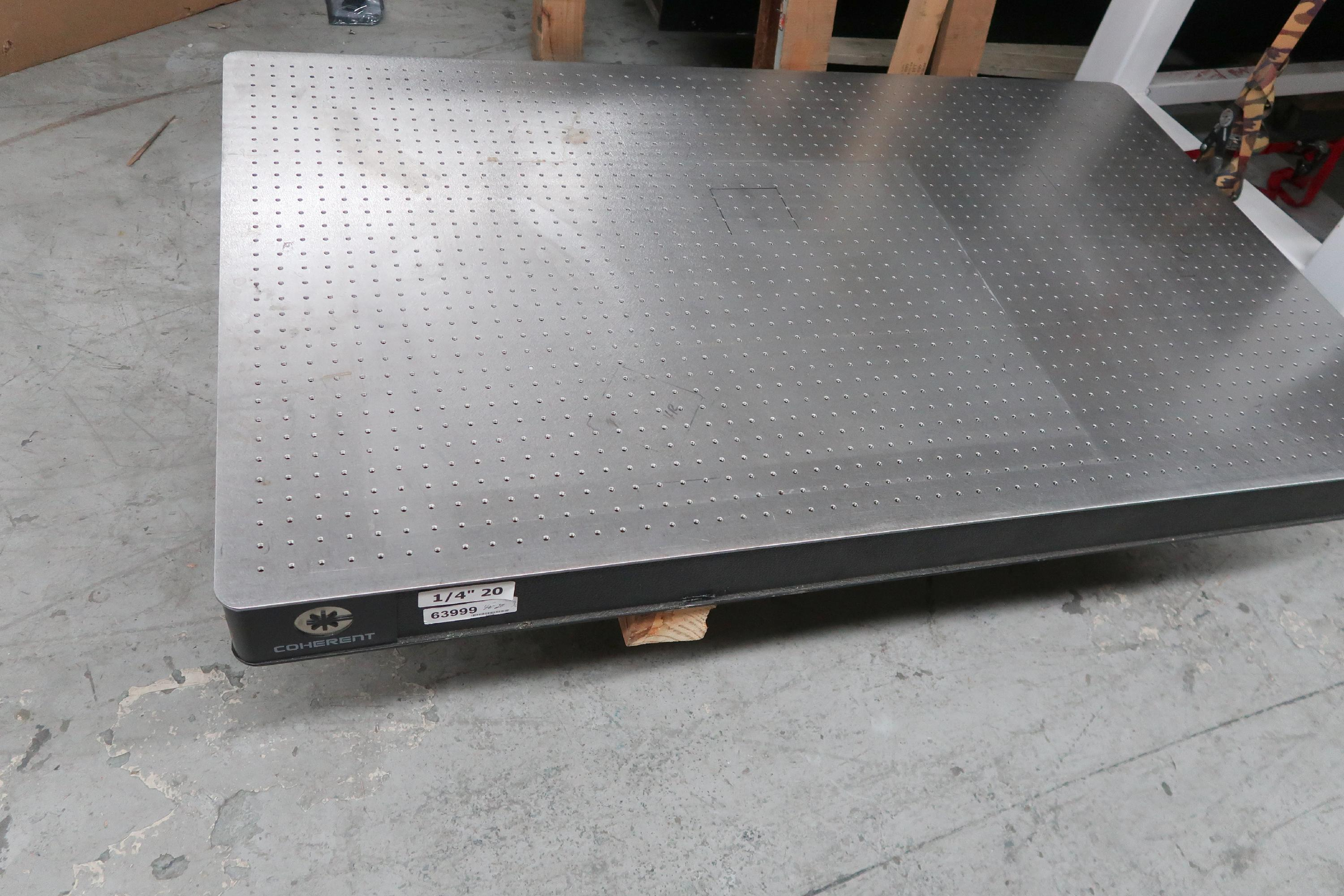 Coherent Optical Table 3' x 5' x 4